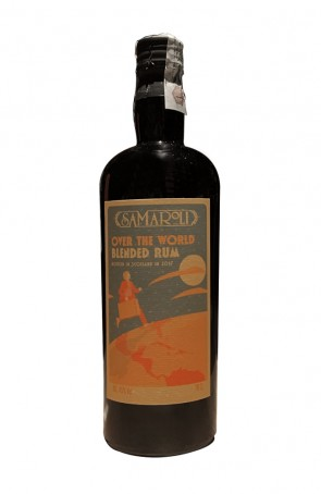 CARIBBEAN BLENDED RUM OVER THE WORLD SAMAROLI