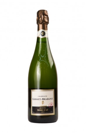 CHAMPAGNE NOIRS D'AY NATURE GRAND CRU S.A. GOSSET-BRABANT