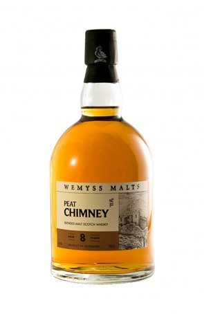 DISTILLATO WHISKY  PEAT CHIMNEY WEMYSS
