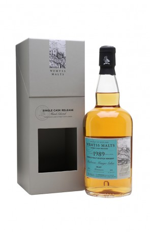 DISTILLATO WHISKY  1989 ISLAY  WEMYSS
