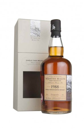 DISTILLATO WHISKY  1988 ROSY APPLE BRULE  WEMYSS