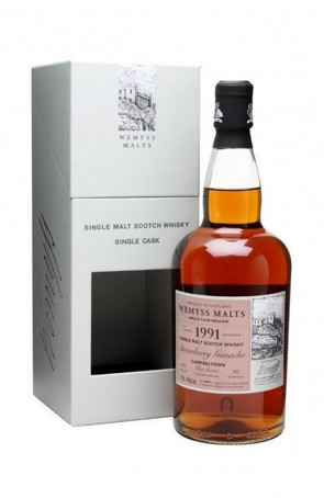 DISTILLATO WHISKY  1991 CAMPBELTOWN  WEMYSS