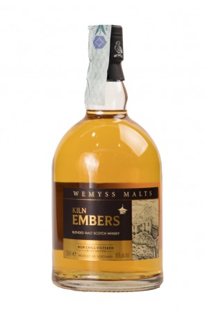 DISTILLATO WHISKY KILN EMBERS NON CHILL-FILTERED LIMITED EDITION WEMYSS