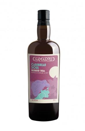CARIBBEAN BLENDED RUM S.A. 45°   SAMAROLI
