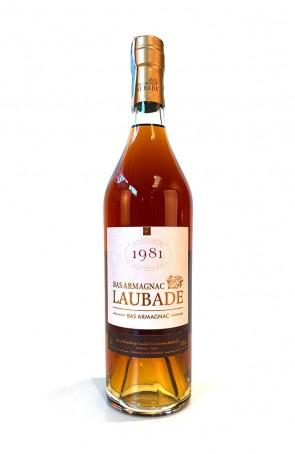 DISTILLATO BAS ARMAGNAC 1981 LAUBADE
